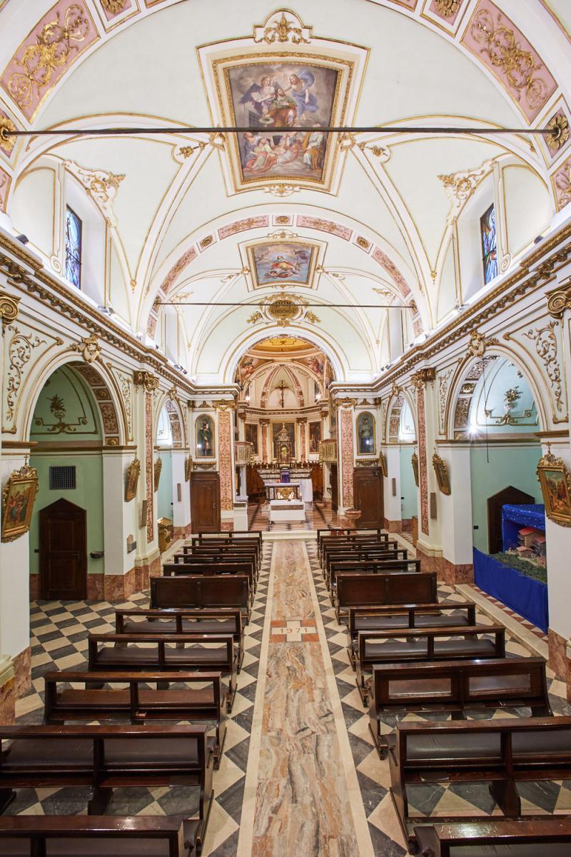 S.Rocco - progetto restauro e adeguamento liturgico - Marco Paolo Servalli Architettura