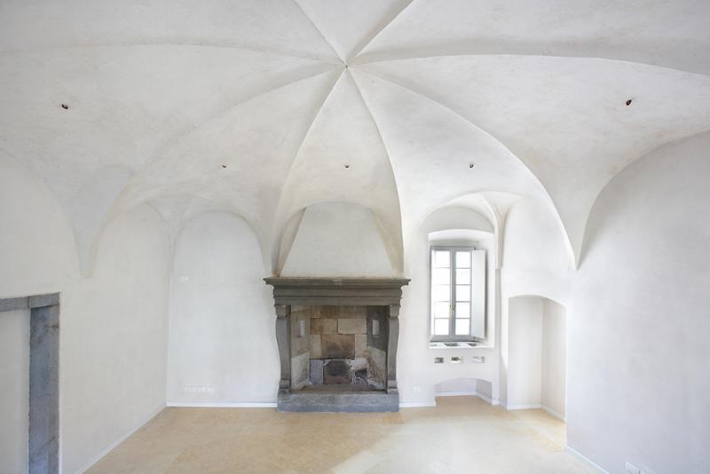 Palazzo Spampatti - camino