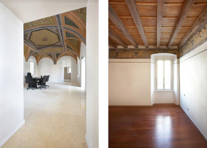 Palazzo Spampatti - interni