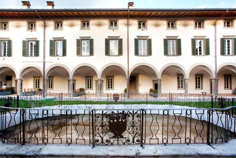 Palazzo Spampatti - porticato