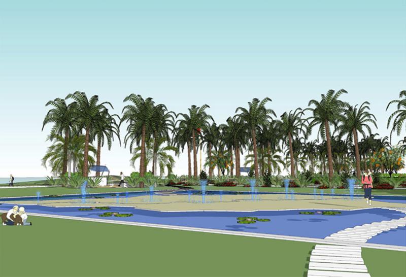 Parco Iraq - Vista Island
