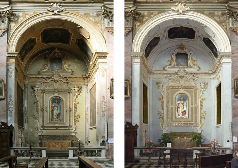 S.Agata nel Carmine - Cappella