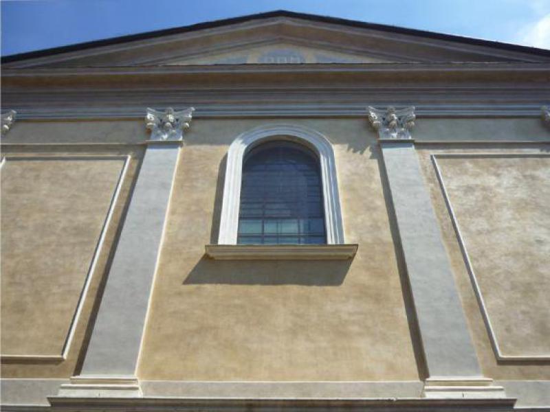 S.Agata nel Carmine - Facciata