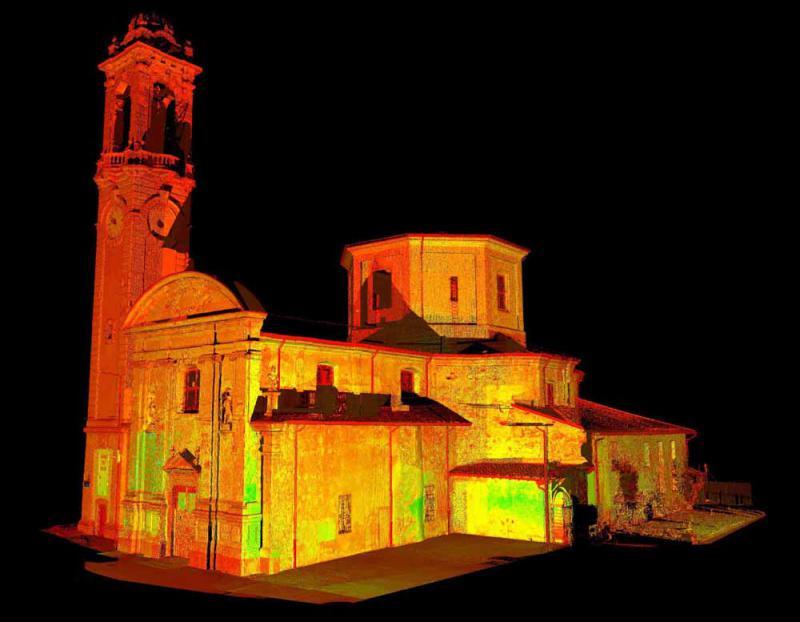 San Giovanni - Spettrografia