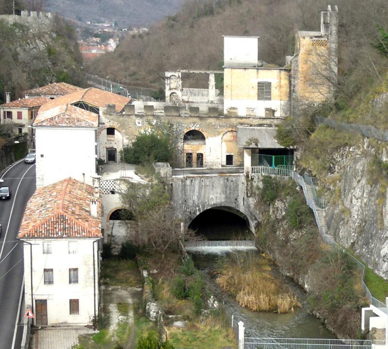 Serravalle - Veduta aerea