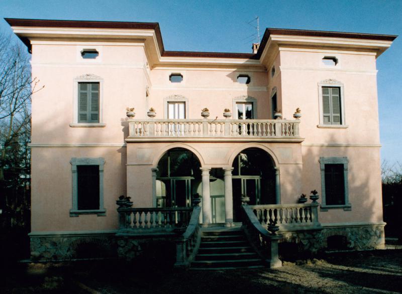 Villa eclettica - Facciata